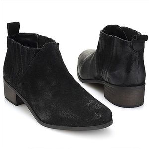 Coconuts By Matisse Distressed Leather Ankle Boots